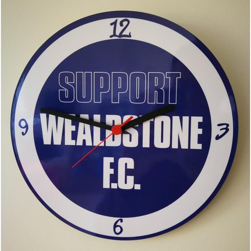 Wealdstone FC Clock