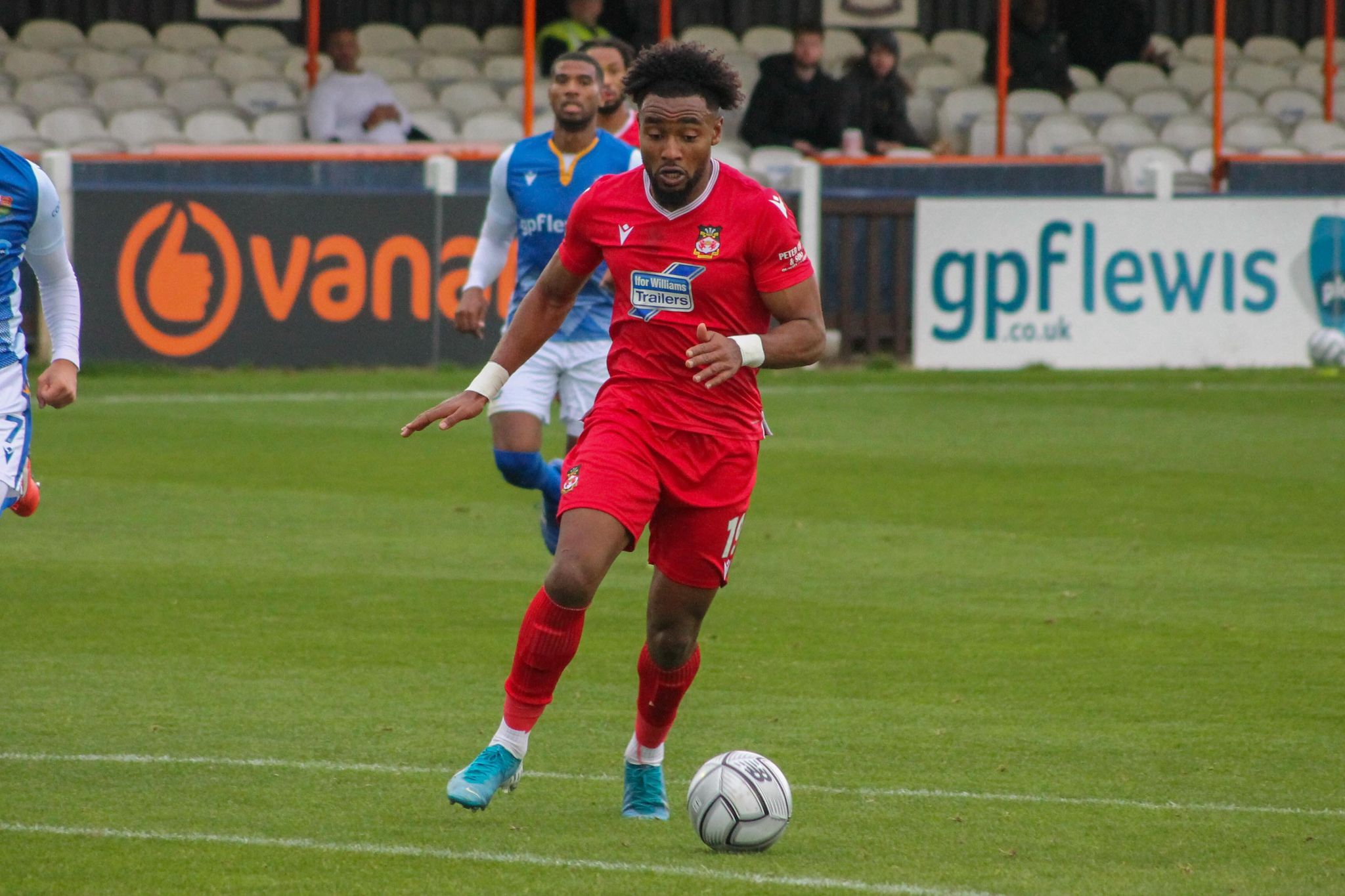 Offical match report from Wrexham