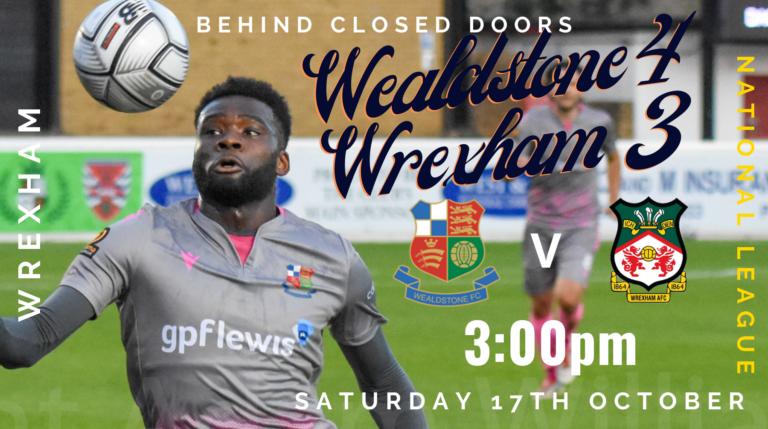 Wealdstone v Wrexham