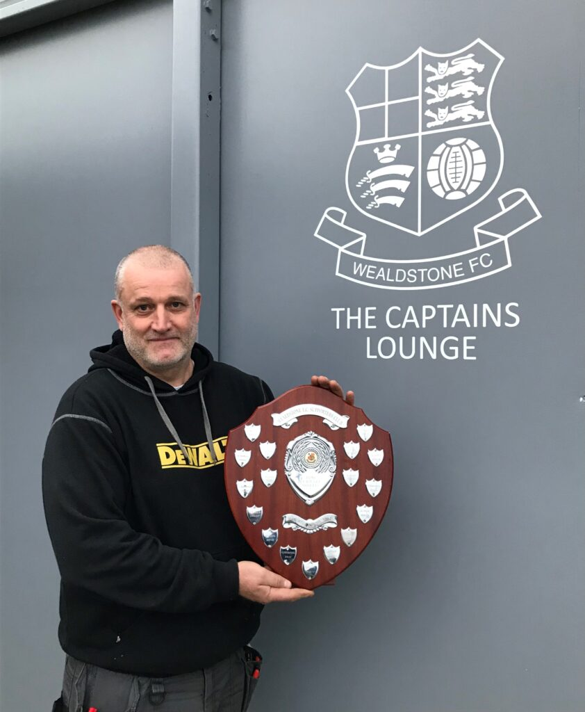 Dave Reader and the Plaque