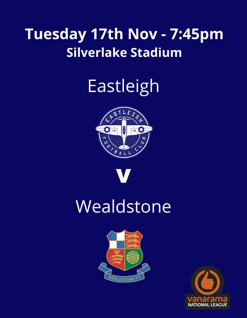 Eastleigh v Wealdstone