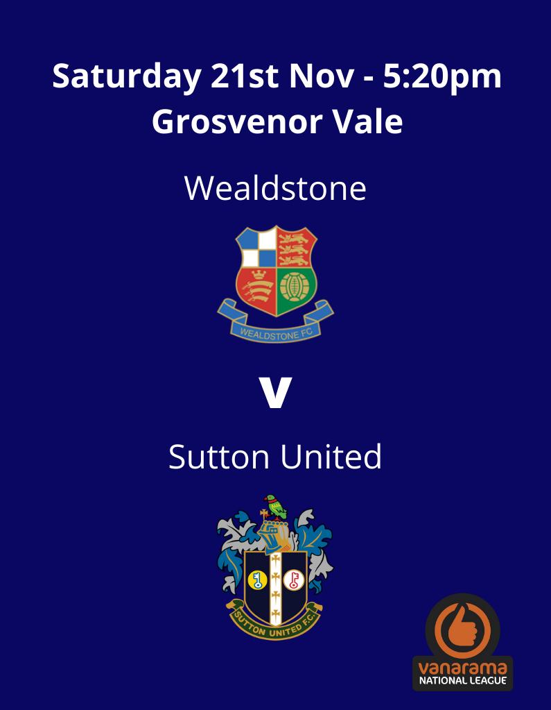 Wealdstone v Sutton