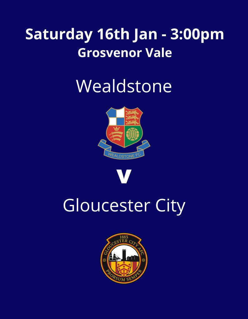Wealdstone v Gloucester City